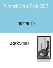 VB Chapter Six PowerPoint.pptx