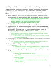 BIO4120 Lecture 7 Study Guide and Self-Assessment Questions
