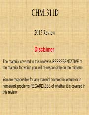 Final Review  2015