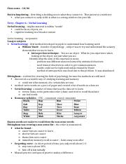 Psych305 notes 10-04 – Terry chp 6.docx