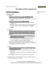 APUSH-The_1960s_and_the_Vietnam_War.doc