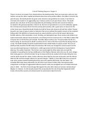 Critical Thinking Response Chapter 6 sociology.docx