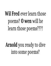 Wil Fred ever learn those poems.docx