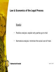 USE-L&E - Chapter 10-11 Legal Process.ppt