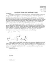a lab experiment acetylation of ferrocene Heather holtrop lab partner- jali greene 2/28/17, chem 3106-341 ta- yangxue liu  friedel-crafts acylation: acetylferrocene and diacetylferrocene purpose: the.