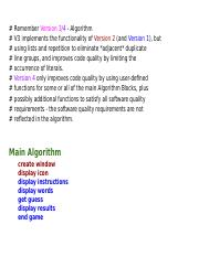 Copy of Remember Version 3 Algorithm.docx