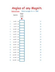 Angles of any Magnitude