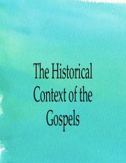 Week 3-The Historical Context of the Gospels.pdf