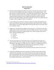 Math 216_Homework 2 on Probability and Statistics for the Engineering Sciences