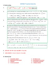LONG EXAM 3 ANSWER KEY