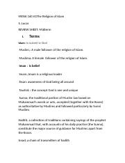 MENA 160 A1 Review