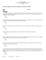 Homework Chapter 2 FINANCIAL_MARKETS_AND_INSTITUTIONS.docx