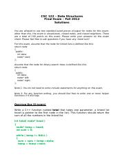 DS Practice Final Exam Solutions.docx
