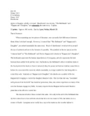 annotated bibliography on anne bradstreet poem To create a comparison/contrast essay of 2 anne bradstreet poems compare/contrast two anne bradstreet poems annotated bibliography case study.