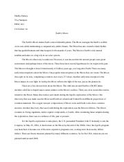 Shelby Parisey Earth's Moon Essay 1 final draft