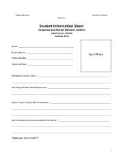 Assignment_Student Information Sheet.doc