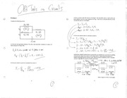 Old Tests on Circuits