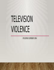 Television Violence.pptx