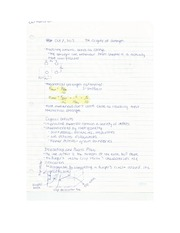 Eng Sci Materials - Strength Lecture Notes