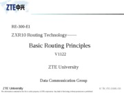 03 Routing basics