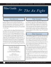 ax-fight-study-guide