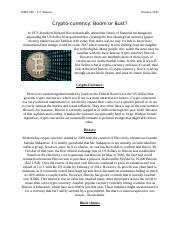 Crypto Currency Final Draft
