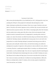 problem solution essay maria montiel period mr carter problem  4 pages smoking in saudi arabia