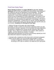 Ashford 7- - Week 6 - Final Paper PREP WORK