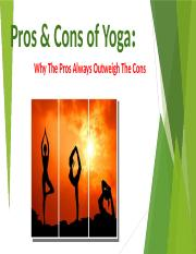 Pros & Cons of Yoga