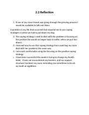 2.2 Reflection health class.docx