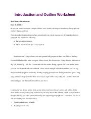 eng critical essay outline mariapdf  introduction and outline   pages introduction and outline worksheetdocx