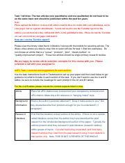C-361 Task 2 pdf - Melinda Joiner Evidenced Based Practice C361 Task