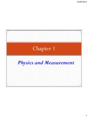 Ch 1 and 3 Measurement, Sig Figs and Dimensional Analyis