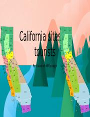 California sites for tourists.pptx