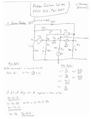 EECS 215 F07 Problem Set 04 solutions corrected