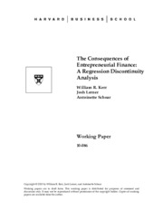 The Consequences of Entrepreneurial Finance.pdf