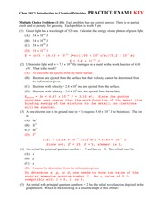 Chem10171FA13PracticeExam1Key