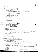 Ch.2 Notes:Characteristics of useful accounting