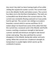 Equatorial counter current.docx