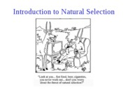 [4] Introduction to Natural Selection