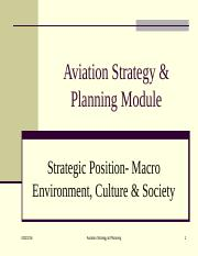 chap 2-1  Business stratgey- Strategic position-Macro enviornment and culture.ppt