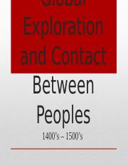 Global Exploration and Contact  1400s to the 1500s (5).pptx
