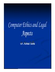 LN-1.2.1-Computer Ethics and Legal Aspects