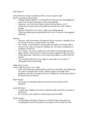 HCL Chapter 2 outline