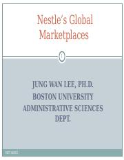 Case3_Nestle's Global Marketplaces.ppt