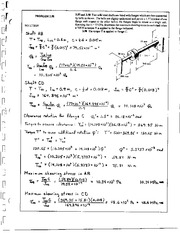 213_Mechanics Homework Mechanics of Materials Solution