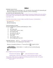 Abstract Final Exam Notes