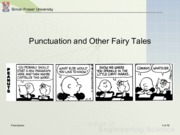 Wk 9 Principles of Punctuation