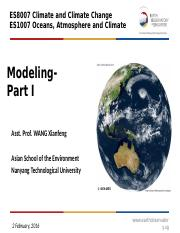 3,4.MODELING AND GLOBAL WARMING