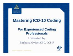 Mastering+ICD-10+for+Experienced+Professionals+%5bRead-Only%5d